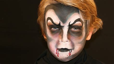 dracula vampire face painting tutorial vampire makeup