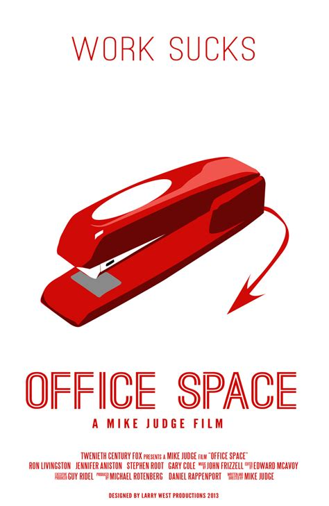 Office Space Poster by Office Space Poster Creative 365 365 Days Of