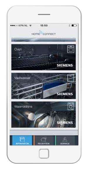 siemens home nl siemens home connect ep nl