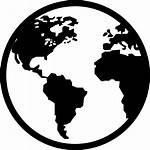 Earth Symbol Globe Icon Planet International Planetary