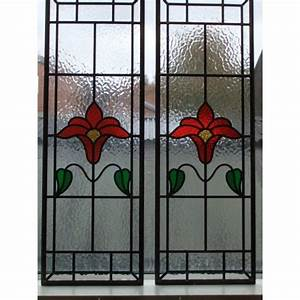 040 Hand made stained glass panel - Stunningly simple ...