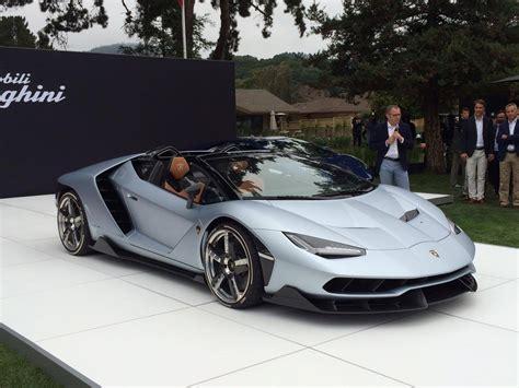 lamborghini proudly presents  centenario roadster