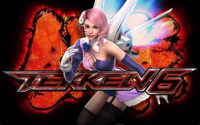 Tekken Anime Fight Inscription Alisa Wallpapers