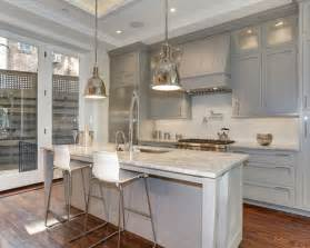 kitchen grey cabinets white countertops gray kitchen