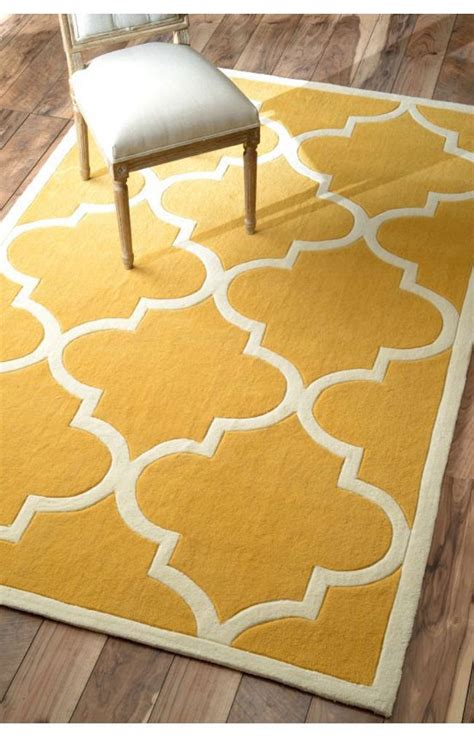 moroccan trellis rug 25 yellow rug and carpet ideas to brighten up any room
