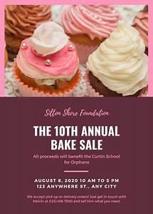 word templates recipe customize 288 bake sale flyer templates online canva