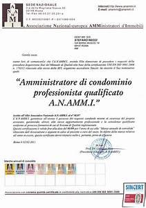Attestati amministratore condomini roma Studio Necci