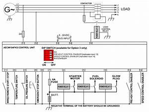 Battery Voltage Sensor Adjustable Operated Automatic Generator Control Module