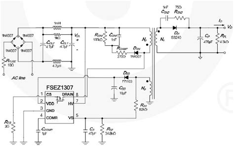 Cell Phone Charger Circuit Diagram Fsez