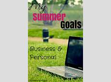 Summer Goals Rachel K Tutoring Blog