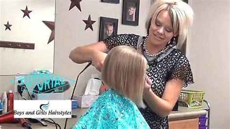 cut slight   hairstyles tutorial youtube