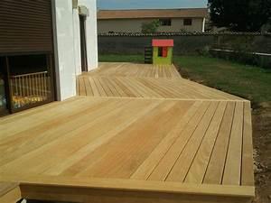 Terrasse Bois Exotique : empreinte bois ~ Melissatoandfro.com Idées de Décoration