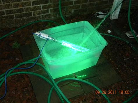 homemade underwater fishing lights diy green led fishing light deanlevin info