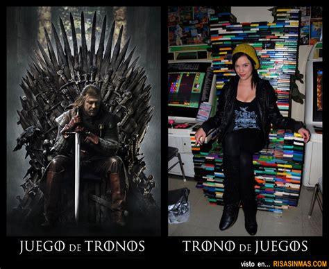 Juego De Tronos Que Trono De Juegos