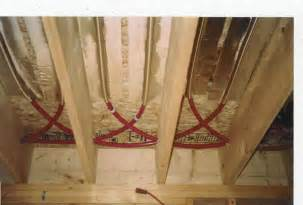 the floor joist installation diy radiant floor heating radiant floor company