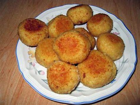 recette de croquette de riz cuit