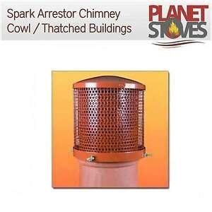 spark arrester chimney cowl  thatched roofs  wood