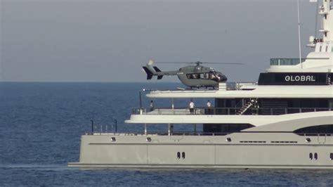Yacht Global by Yacht Global 67 M Helicopter Operation