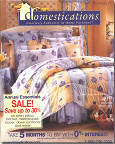 Domestications Bedding Catalog by Domestications Catalog Inserts Archived The