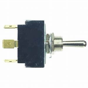 Toggle Switch 3 Position  Dpdt  On-on-on