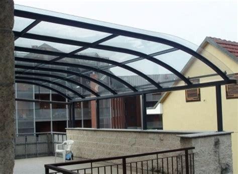 verande balcone verande in plexiglass per terrazzi qw26 pineglen