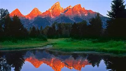 Grand Tetons Wallpapers Definition Lake Forest Rocks