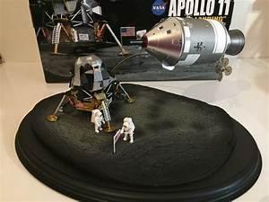 Apollo 11 Lunar Landing CSM LM Astronaut Dragon Space ...