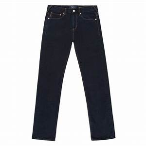 Paul smith Menu0026#39;s Standard-fit Over-dyed Dark Blue Jeans in Blue for Men | Lyst