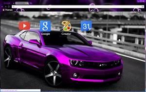 Purple Camaro Theme Chrome Theme - ThemeBeta