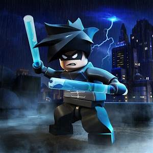Nightwing - LEGO Batman 2: DC Super Heroes Character ...