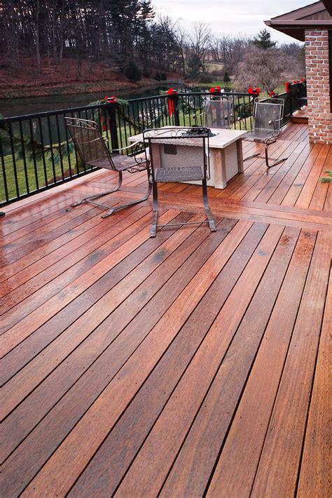 Ipe Hardwood Deck Project In Elverson, Pa  Stump's Decks