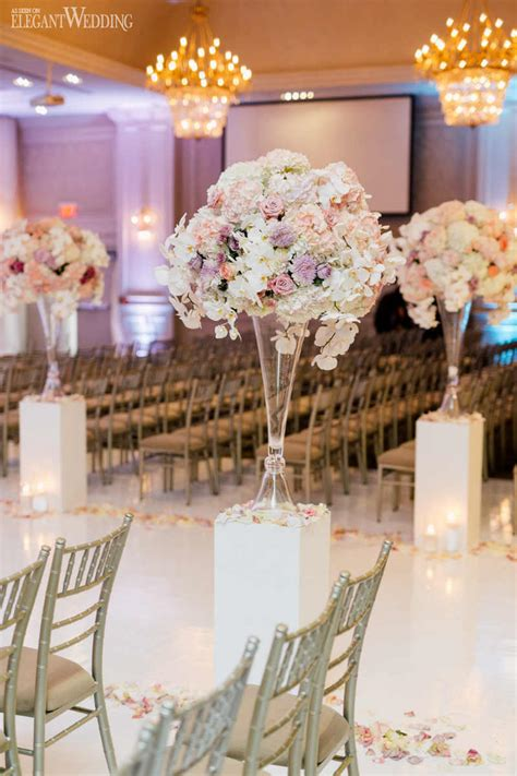 Beautiful Pink And Purple Wedding Elegantweddingca