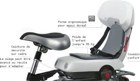 guppy junior polisport siège transport enfant à vélo