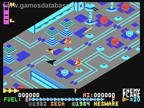 Super Zaxxon Commodore 64 Games Database