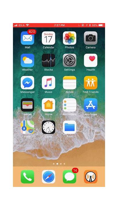 Screen Iphone Apps Ios Ipad Move Icons