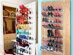 Range Chaussures De Porte : id es de rangement pour chaussures ~ Melissatoandfro.com Idées de Décoration
