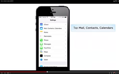 sync contacts to phone how to sync yahoo contacts with iphone