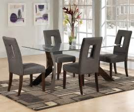 glass dining room sets small glass dining room table sets decor references