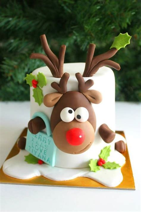 1000 ideas about fondant christmas cake on pinterest
