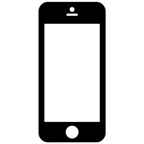 smartphone icon vector png smartphone silhouette www pixshark images