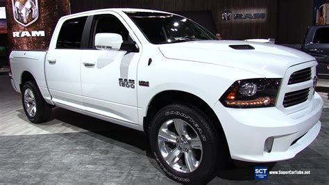2016 Ram 1500 Sport 57l Hemi Exterior And Interior