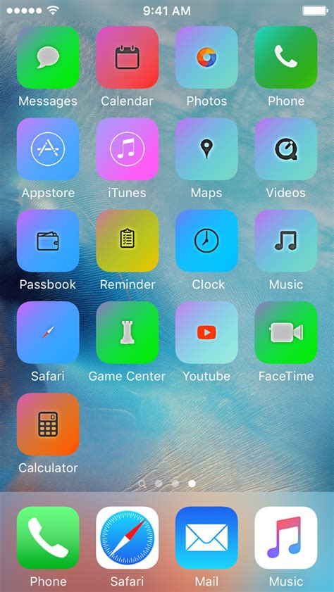 how to move app icons on iphone installing themes on your iphone without a jailbreak