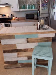 easy kitchen island plans most easiest but practical recycled pallet ideas that