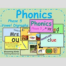 Phonics Phase 5 Vowel Digraph Bundle  Interactive Lessons By Blossomingminds  Teaching Resources