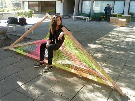 Self Supporting Hammock by Tensile Mobius Bench A Self Supporting Hammock On Behance