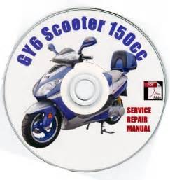 150cc Gy6 Service Repair Manual Sym Cpi Hyosung Sanli