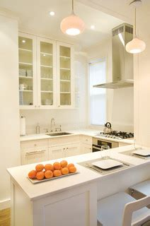 the kitchen cabinet tv east side pied a terre contemporary kitchen 8712