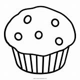 Coloring Muffin Printable Template Colorare Ultra Disegni Fruit sketch template