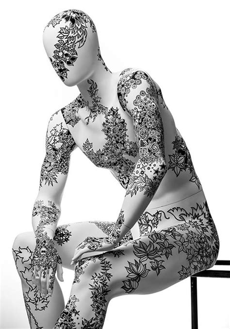 63 best images about Body Art & Tattoo's on Mannequins on Pinterest | Keith haring, Tattoo