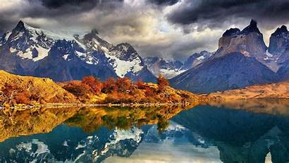 Patagonia Mountains Desktop Wallpapers Chile National Paine